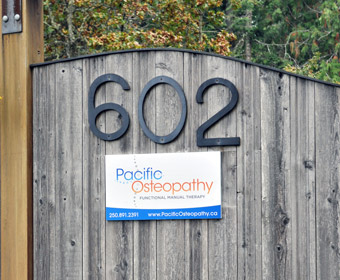 Pacific Osteopathy - Location